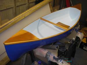6' Baby Kate Open Canoe Plans