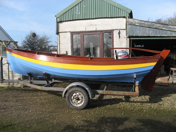 15 Northumbrian Coble