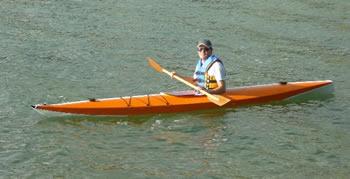 A kayak for Avrilena