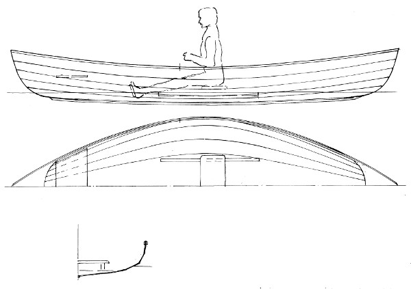 "14'9"" Grebe Peapod Plans"