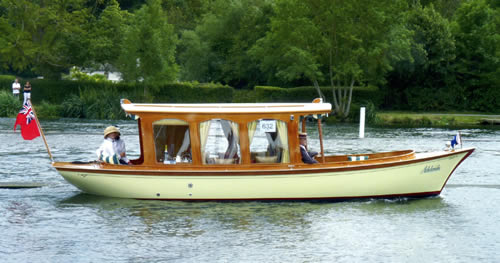 27' Marlow Electric/Steam Launch Study Plans