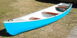 Anyone know of any plans for a canoe with a transom