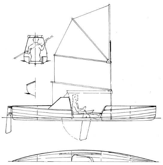 "18'6"" Ocean Crossing Kayak Plans"