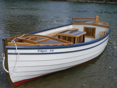 Open electric displacement boat 16-18'