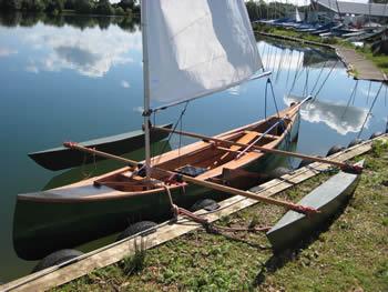 Float, Sail & Leeboard Plans