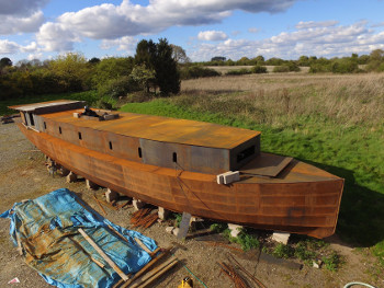 65' Teign Motor Barge Plans